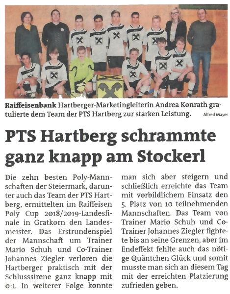 Futsal_Zeitungsbericht